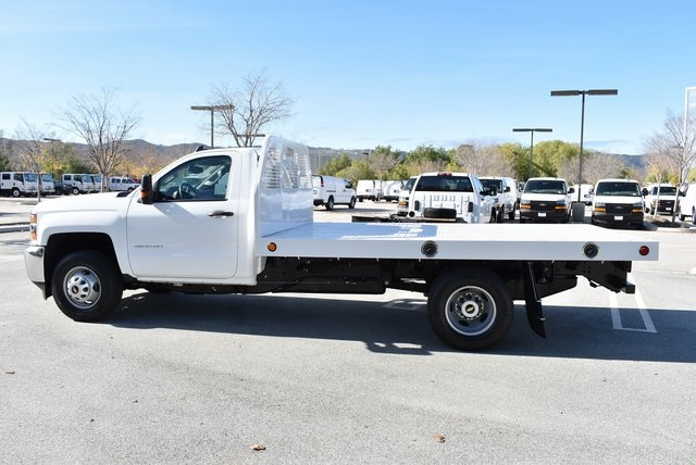 2019 Silverado 3500 Regular Cab DRW 4x2,  Royal Platform Body #M19187 - photo 7