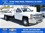 2019 Silverado 3500 Regular Cab DRW 4x2,  Royal Platform Body #M19187 - photo 1