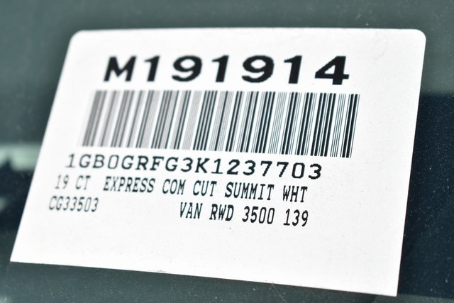 2019 Chevrolet Express 3500 4x2, Royal RSV Plumber #M191914 - photo 3