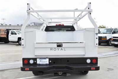 2019 Silverado 2500 Double Cab 4x2,  Royal Service Body Utility #M19203 - photo 9