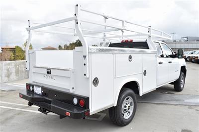 2019 Silverado 2500 Double Cab 4x2,  Royal Service Body Utility #M19203 - photo 2