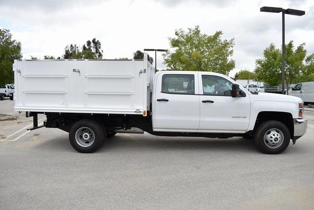 2019 Silverado 3500 Crew Cab DRW 4x2,  Martin Landscape Dump #M19214 - photo 10
