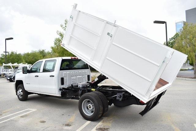 2019 Silverado 3500 Crew Cab DRW 4x2,  Martin Landscape Dump #M19214 - photo 14