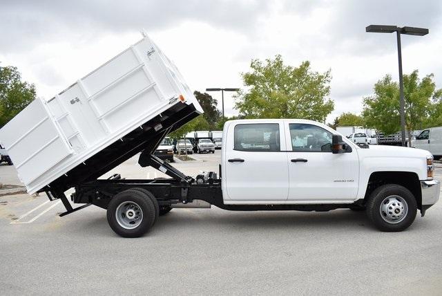 2019 Silverado 3500 Crew Cab DRW 4x2,  Martin Landscape Dump #M19214 - photo 17