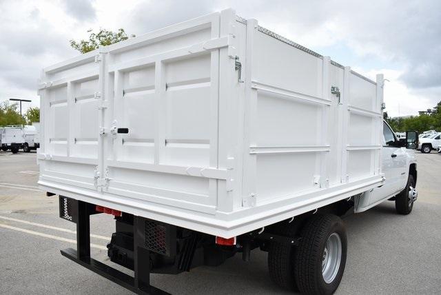 2019 Silverado 3500 Crew Cab DRW 4x2,  Martin's Quality Truck Body Landscape Dump #M19214 - photo 1