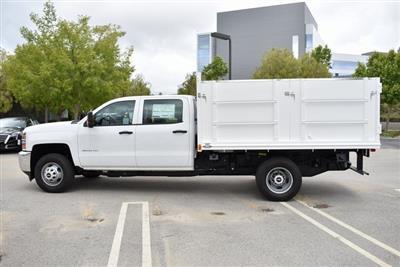 2019 Silverado 3500 Crew Cab DRW 4x2,  Martin Landscape Dump #M19214 - photo 7