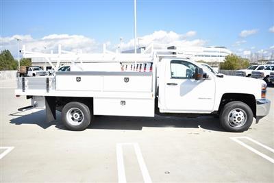 2019 Silverado 3500 Regular Cab DRW 4x2,  Harbor Standard Contractor Body #M19217 - photo 10