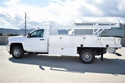 2019 Silverado 3500 Regular Cab DRW 4x2,  Harbor Standard Contractor Body #M19217 - photo 7