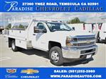 2019 Silverado 3500 Regular Cab DRW 4x2,  Harbor Contractor Body #M19217 - photo 1