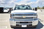 2019 Silverado 3500 Regular Cab DRW 4x2,  Harbor Standard Contractor Body #M19217 - photo 5