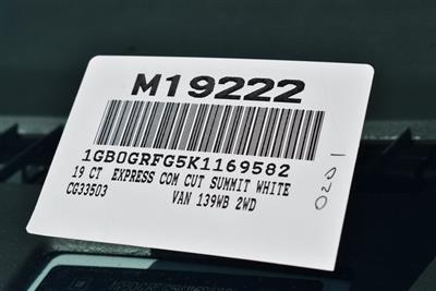 2019 Express 3500 4x2,  Knapheide KUV Plumber #M19222 - photo 4