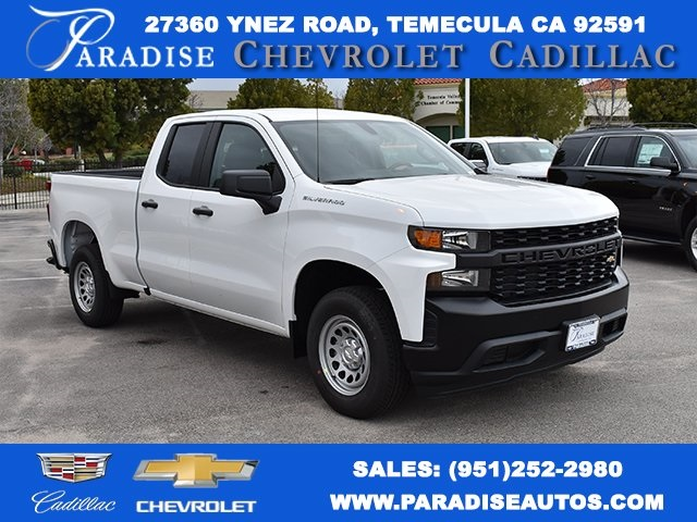 2019 Silverado 1500 Double Cab 4x2,  Pickup #M19235 - photo 1