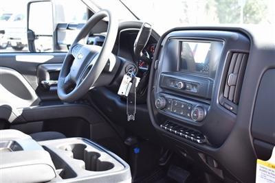 2019 Silverado 3500 Regular Cab DRW 4x2,  Harbor Black Boss Platform Body #M19242 - photo 16