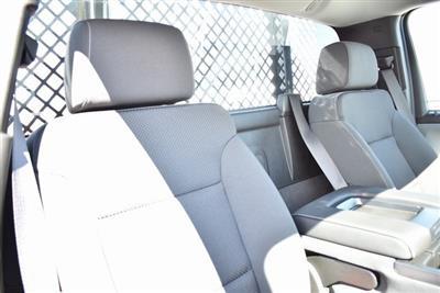 2019 Silverado 3500 Regular Cab DRW 4x2,  Harbor Black Boss Platform Body #M19242 - photo 18