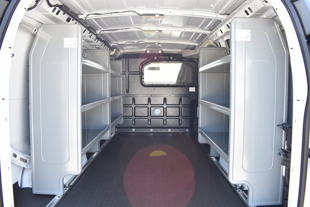 2019 Express 2500 4x2,  Adrian Steel Commercial Shelving Upfitted Cargo Van #M19296 - photo 2