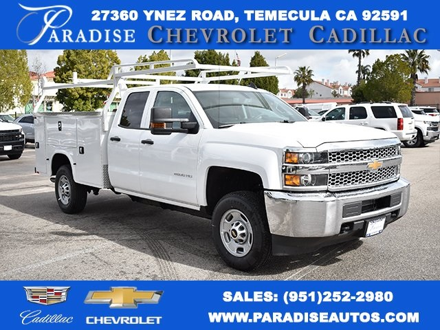 2019 Silverado 2500 Double Cab 4x2,  Knapheide Utility #M19302 - photo 1