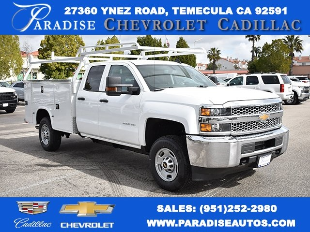 2019 Silverado 2500 Double Cab 4x2,  Knapheide Utility #M19303 - photo 1