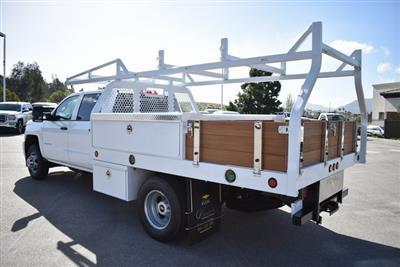 2019 Silverado 3500 Crew Cab DRW 4x2,  Royal Contractor Body #M19317 - photo 8
