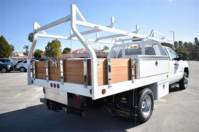 2019 Silverado 3500 Crew Cab DRW 4x2,  Royal Contractor Body #M19317 - photo 2