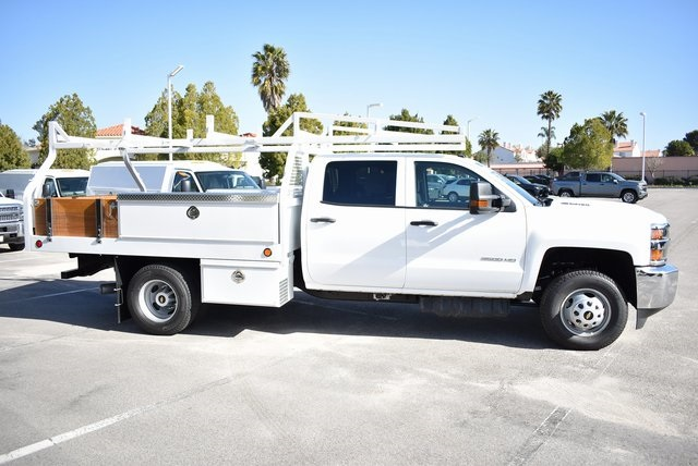 2019 Silverado 3500 Crew Cab DRW 4x2,  Royal Contractor Body #M19318 - photo 10