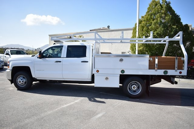 2019 Silverado 3500 Crew Cab DRW 4x2,  Royal Contractor Body #M19318 - photo 7