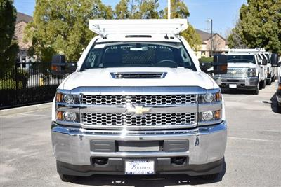 2019 Silverado 3500 Crew Cab DRW 4x2,  Royal Contractor Body #M19318 - photo 5