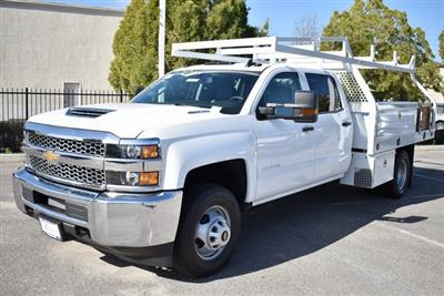 2019 Silverado 3500 Crew Cab DRW 4x2,  Royal Contractor Body #M19318 - photo 6