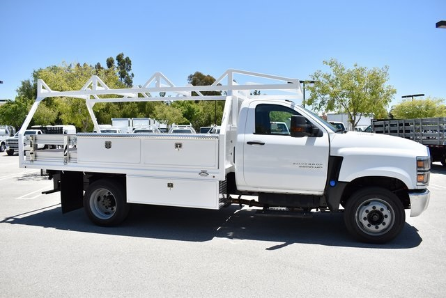 2019 Silverado Medium Duty DRW 4x2,  Martin Contractor Body #M19333 - photo 9