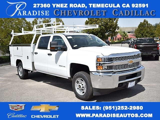 2019 Silverado 2500 Crew Cab 4x2,  Harbor Utility #M19339 - photo 1