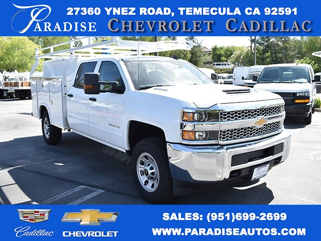 2019 Silverado 3500 Crew Cab 4x2,  Royal Service Body Utility #M19346 - photo 1