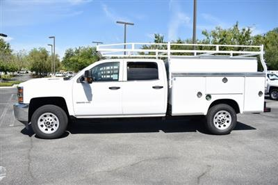 2019 Silverado 3500 Crew Cab 4x2,  Royal Service Body Utility #M19346 - photo 3