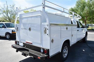 2019 Silverado 3500 Crew Cab 4x2,  Royal Service Body Utility #M19346 - photo 2