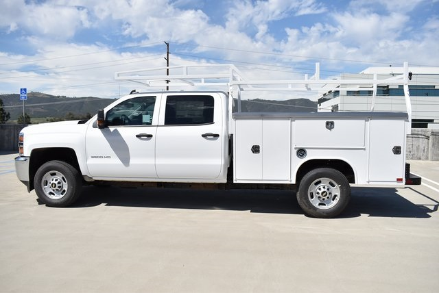 2019 Silverado 2500 Crew Cab 4x2,  Harbor TradeMaster Utility #M19347 - photo 5