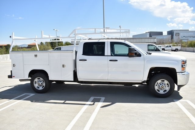 2019 Silverado 2500 Crew Cab 4x2,  Harbor TradeMaster Utility #M19347 - photo 8