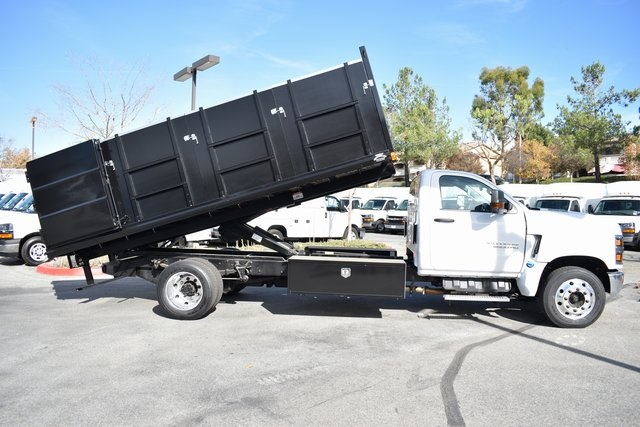2019 Silverado 5500 Regular Cab DRW 4x2, Martin Landscape Dump #M19350 - photo 13