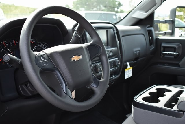 2019 Silverado 3500 Crew Cab DRW 4x2,  Royal Contractor Body #M19352 - photo 19
