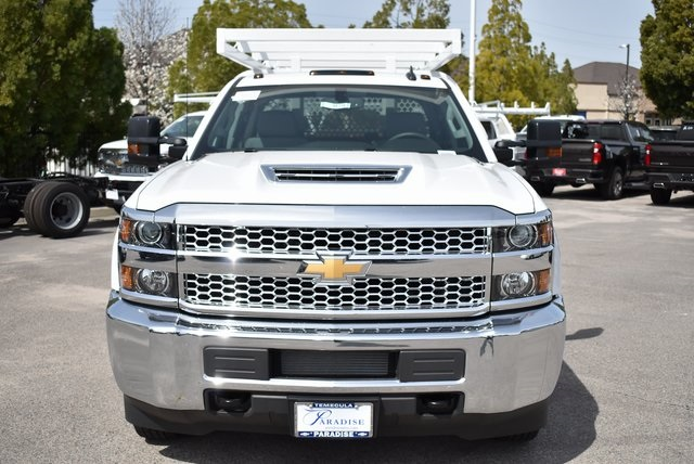2019 Silverado 3500 Crew Cab DRW 4x2,  Royal Contractor Body #M19352 - photo 4