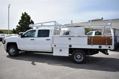 2019 Silverado 3500 Crew Cab DRW 4x2,  Royal Contractor Body #M19352 - photo 6