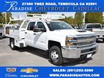 2019 Silverado 3500 Crew Cab DRW 4x2,  Royal Contractor Body #M19352 - photo 1