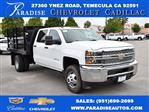 2019 Silverado 3500 Crew Cab DRW 4x2,  Harbor Flat/Stake Bed #M19364 - photo 1
