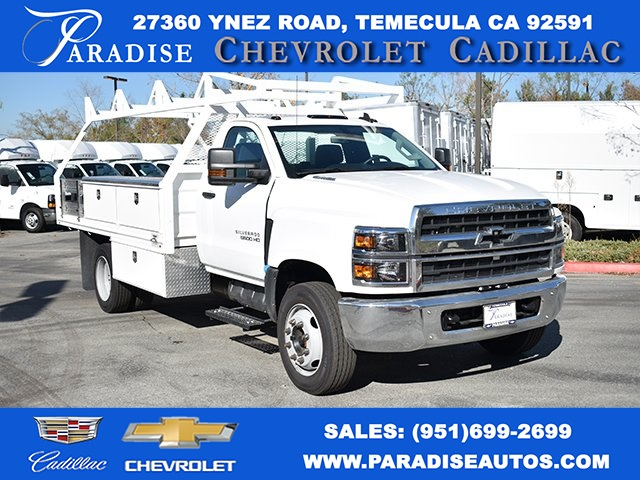 2019 Silverado Medium Duty DRW 4x2,  Cab Chassis #M19365 - photo 1
