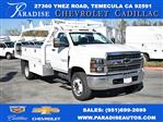 2019 Silverado 5500 Regular Cab DRW 4x2, Cab Chassis #M19365 - photo 1