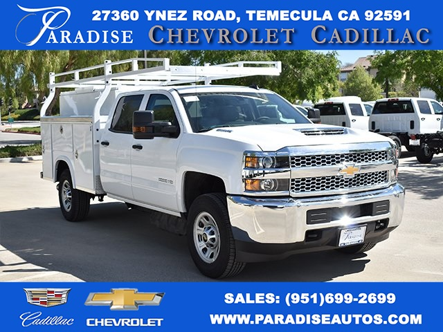 2019 Silverado 3500 Crew Cab 4x2,  Royal Utility #M19379 - photo 1