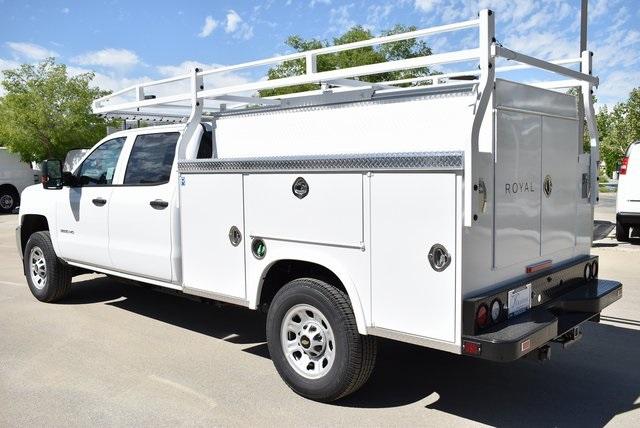 2019 Silverado 3500 Crew Cab 4x2,  Royal Service Body Utility #M19379 - photo 8