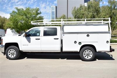 2019 Silverado 3500 Crew Cab 4x2,  Royal Service Body Utility #M19379 - photo 7