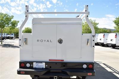 2019 Silverado 3500 Crew Cab 4x2,  Royal Service Body Utility #M19379 - photo 9