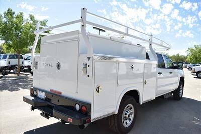 2019 Silverado 3500 Crew Cab 4x2,  Royal Service Body Utility #M19379 - photo 2
