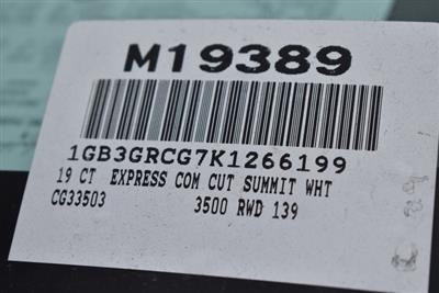 2019 Express 3500 4x2,  Knapheide KUV Plumber #M19389 - photo 4