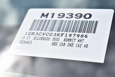 2019 Silverado 3500 Regular Cab DRW 4x2,  Knapheide Standard Service Body Utility #M19390 - photo 4