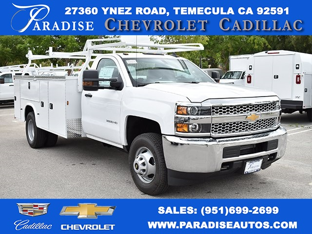 2019 Silverado 3500 Regular Cab DRW 4x2,  Knapheide Utility #M19391 - photo 1